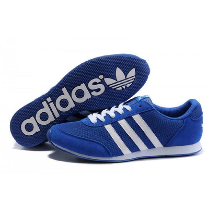 Кроссовки Adidas Runner navy blue